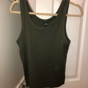 Brand New Wild Fable Green Tank Top